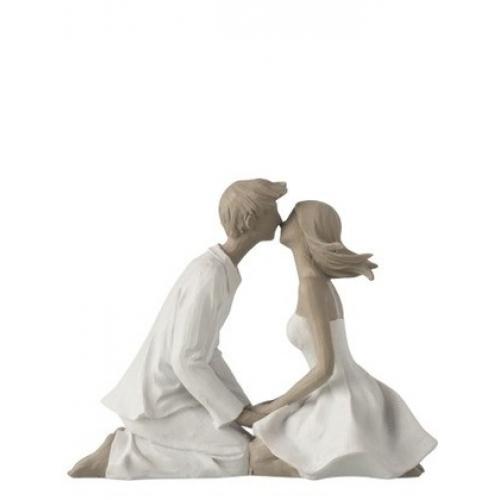 Статуэтка пара целуется  J-LINE высота 17 см