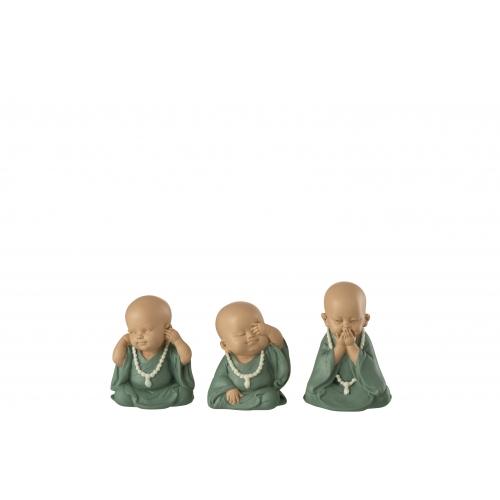 Монахи J-LINE набор из трех высота 10 см Бельгия