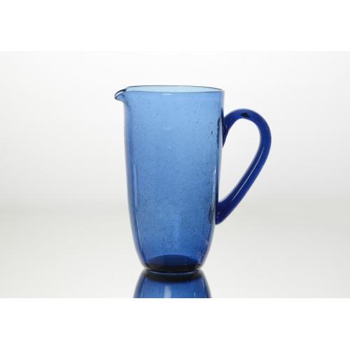 Графин AMADEUS стеклянный синего цвета Франция