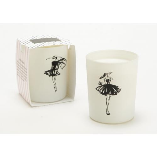 Свеча AMADEUS ароматическая в белой шкатулке аромат цветочный ориентальный Франция