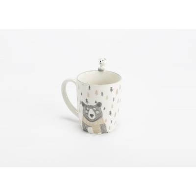 Чашка с мишкой  AMADEUS фарфоровая Франция