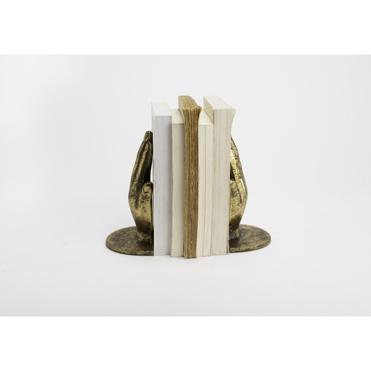 Держатели декоративные для книг AMADEUS ладони высота 18 см Франция