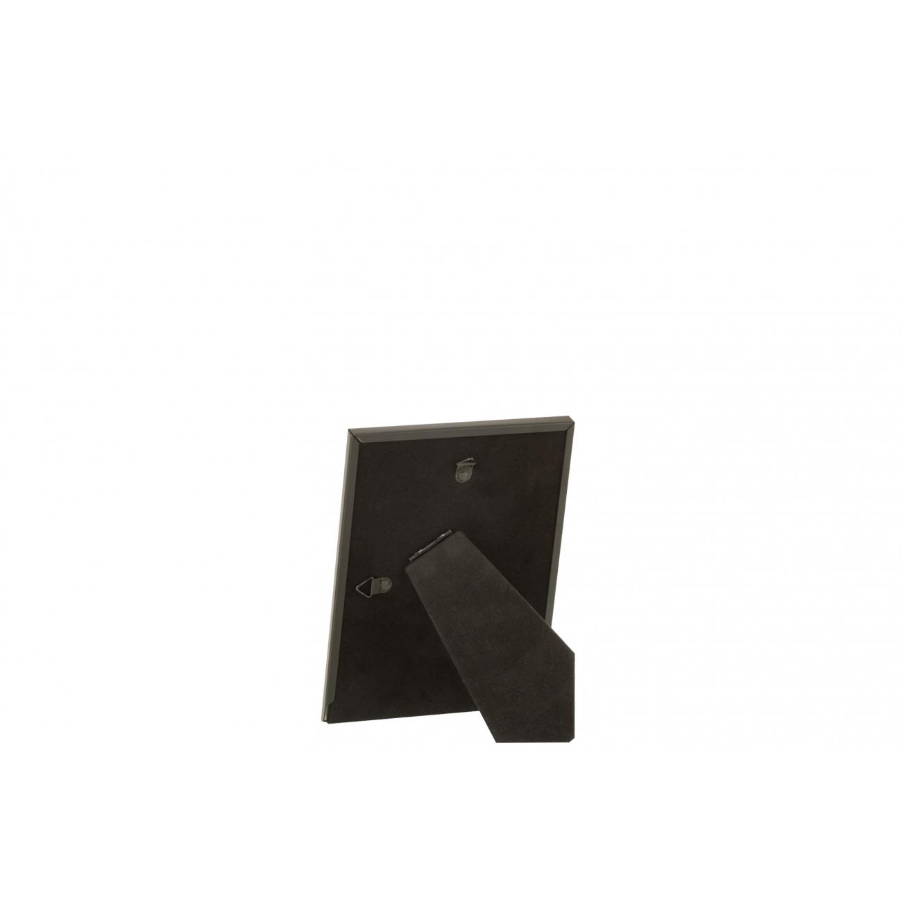 Фоторамка J-LINE металлическая черного цвета 13х18 см Бельгия