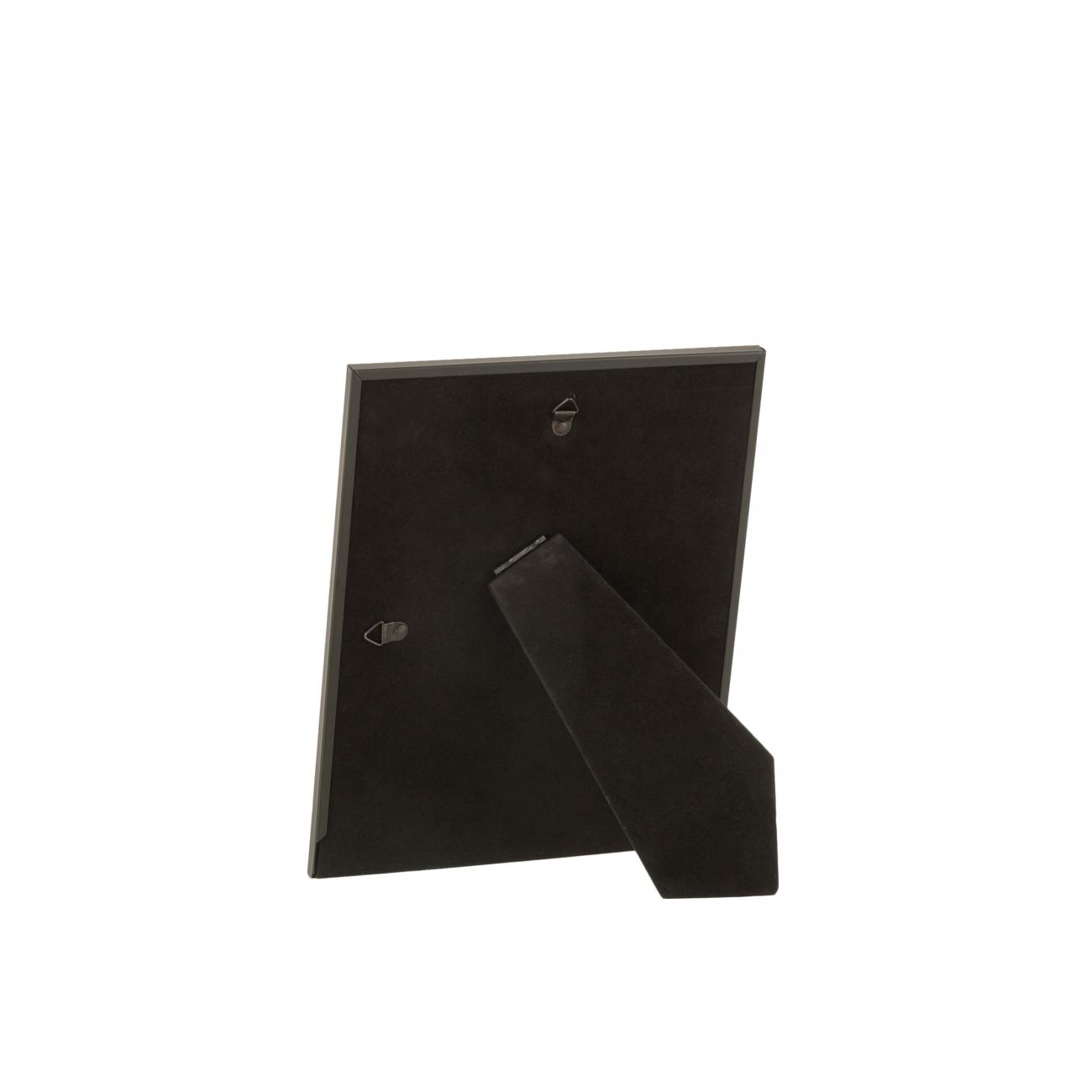 Фоторамка J-LINE металлическая черного цвета 20х25 см Бельгия