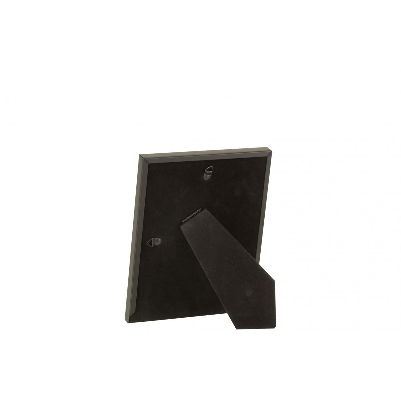 Фоторамка J-LINE металлическая матовая в черном цвете 13x18 см Бельгия
