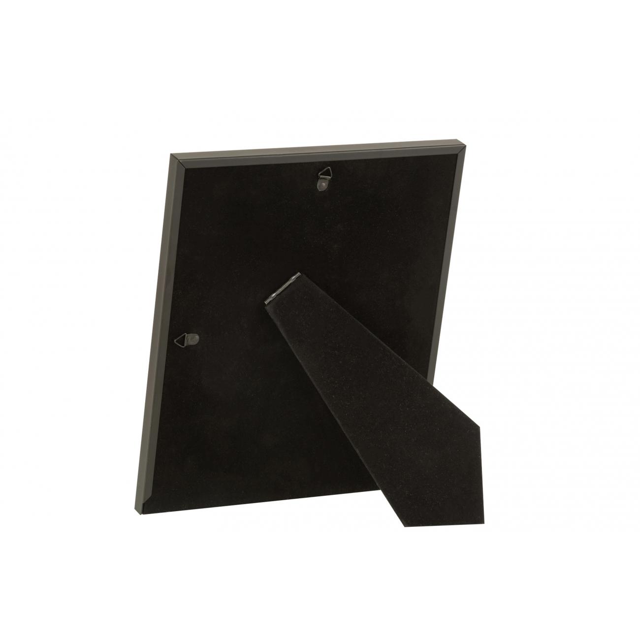 Фоторамка J-LINE металлическая матовая в черном цвете 20x25 см Бельгия
