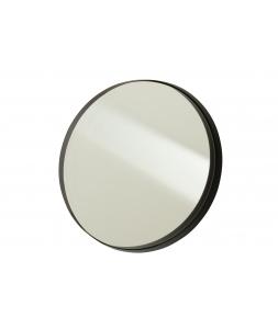 Зеркало J-LINE настенное круглое в черной металлической раме диаметр 51 см Бельгия