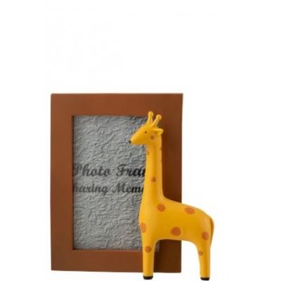 Фоторамка J-LINE с жирафом размер фото 10х15 см