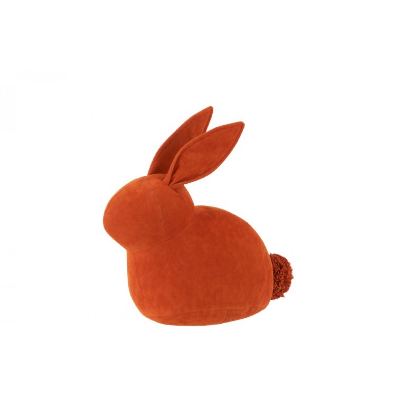 Стоппер для двери J-LINE в форме зайца оранжевого цвета Бельгия