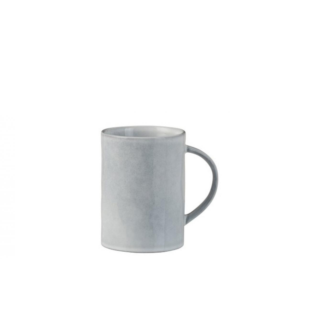 Чашка J-LINE керамическая серо-голубая 250 мл Бельгия