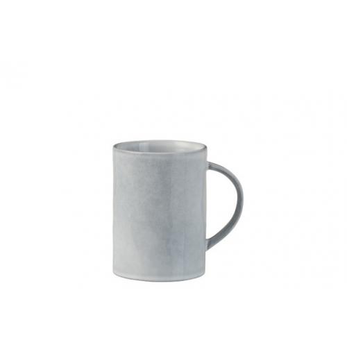 Чашка J-LINE керамическая серо-голубая 300 мл Бельгия