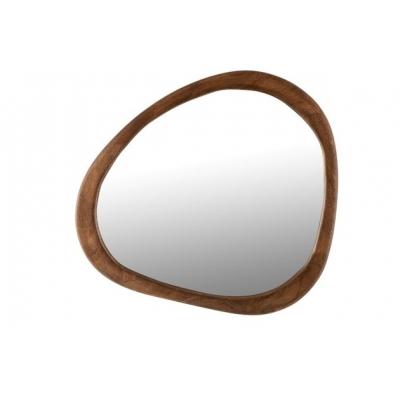 Зеркало J-LINE настенное фигурное в раме из натурального дерева манго 58х59 см Бельгия