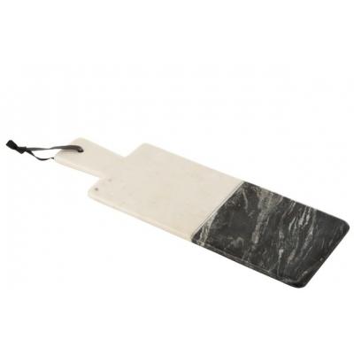 Доска для сервировки  J-LINE из камня двух видов 17х48 см Бельгия