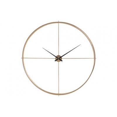 Настенные часы  J-LINE круглые золотые в металлическом корпусе диаметр 129 см