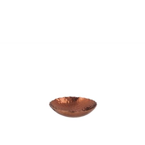 Подсвечник J-LINE для чайной свечи металлический диаметр 11 см
