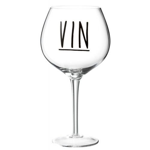 Бокал для вина стеклянный  J-LINE обьем 320 мл  Бельгия