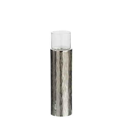 Подсвечник J-LINE алюминиевый  32 см