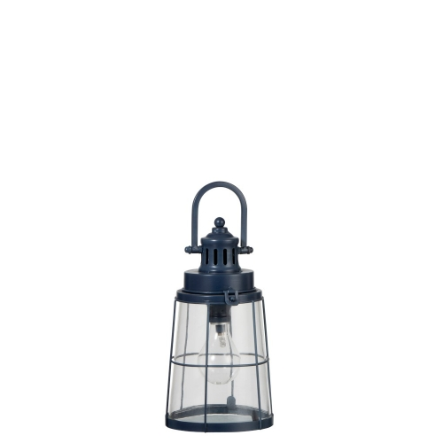 Ночник-фонарь  J-LINE синий 28 см