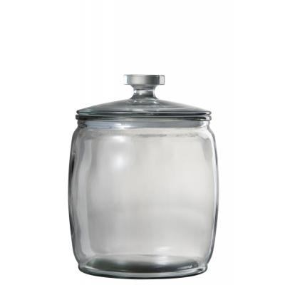 Стеклянная емкость для хранения J-LINE объем 4 литра