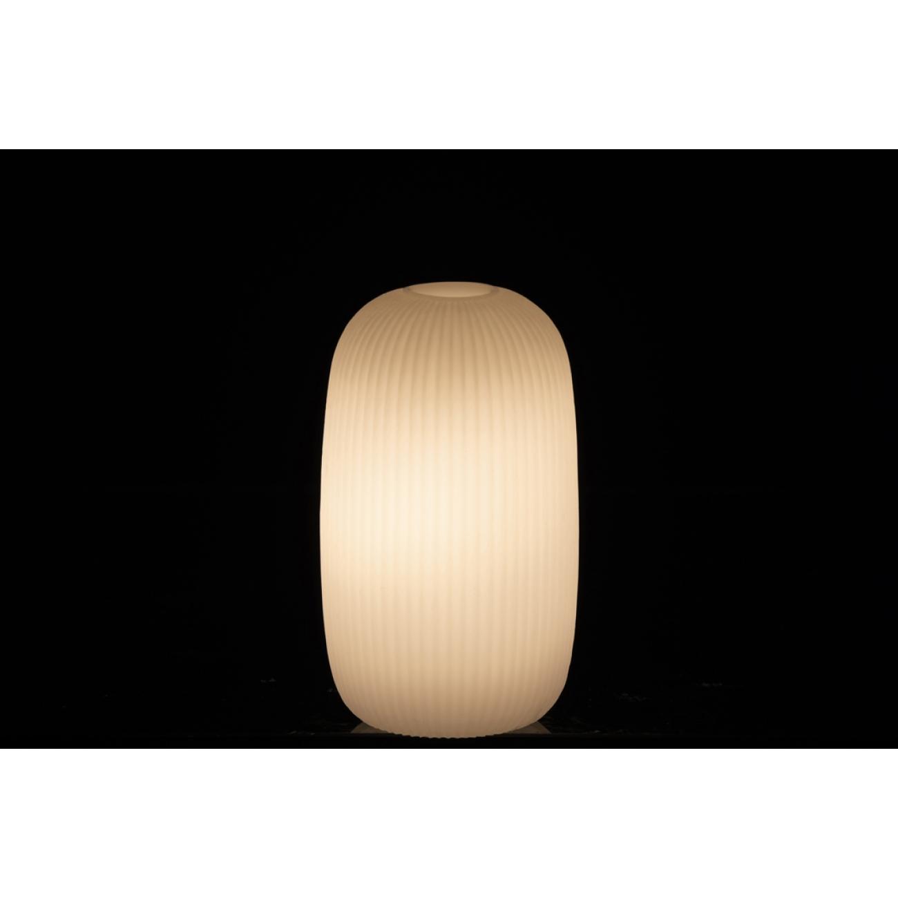 Ночник  J-LINE лед лампа  розовая  16 см