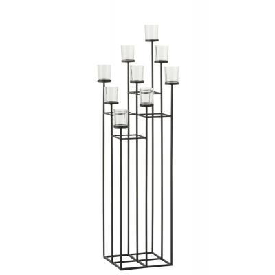 Подсвечник J-LINE металлический напольный на 9 свечей высота 117 см