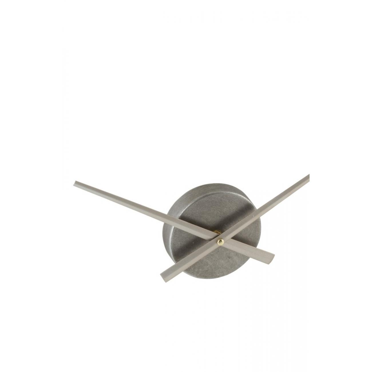 Настенные часы J-LINE круглые в металлическом корпусе диаметр 91 см