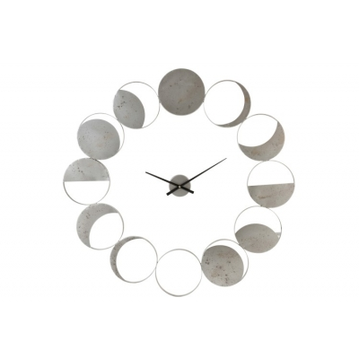 Настенные часы J-LINE круглые в металлическом корпусе диаметр 103 см