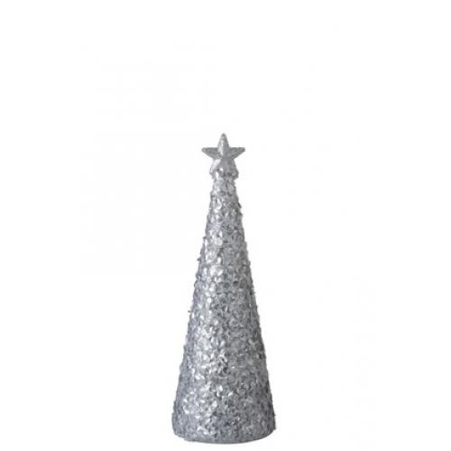 Елочка с лед-подсветкой J-LINE  25 см