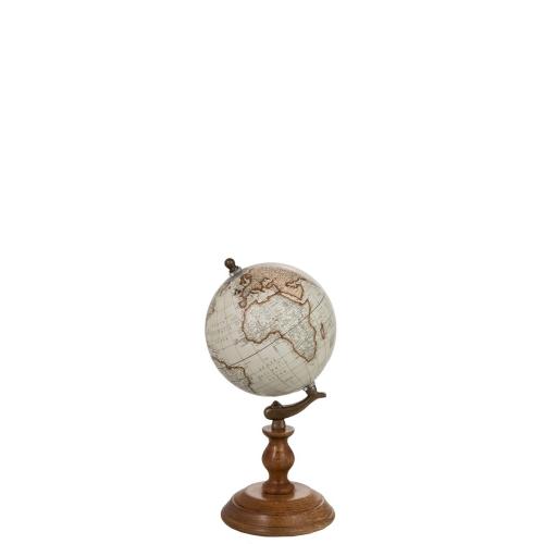 Глобус J-LINE на деревянной подставке диаметр 15 см